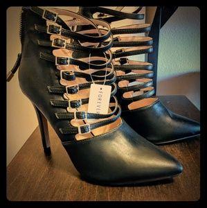 Gladiator Heels/booties, Size US 8m
